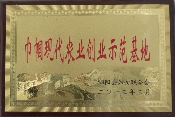 泗阳巾帼现代农业创业师范基地